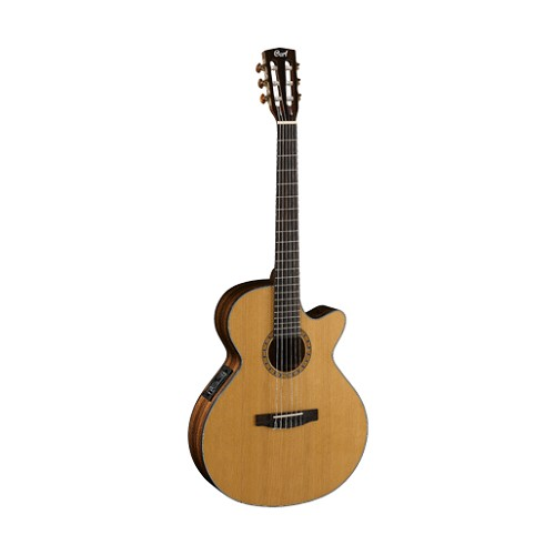 CORT Gitar Akustik Elektrik [CEC-7-NAT] - Natural - Gitar Akustik Elektrik